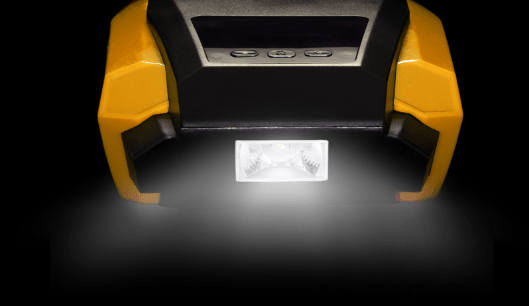 Tyre Inflator Display